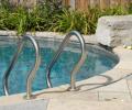 Diving rock; Standard pool ladder