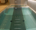 Custom tiled pool
