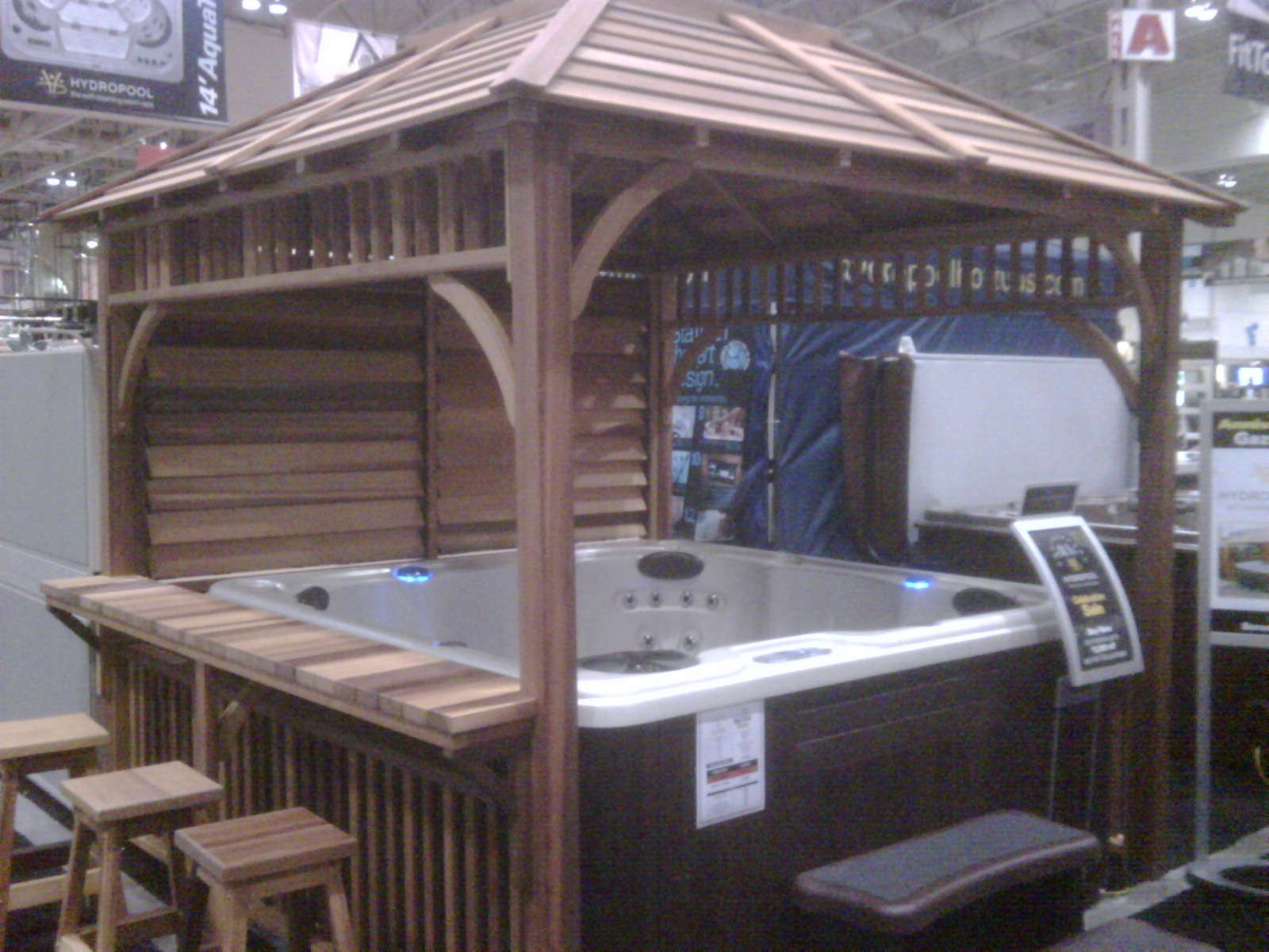 Hot Tubs At Toronto Home Show