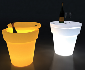 TChin Table and Cooler