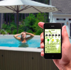 Hot Tub Wireless Control from Hydropool - iCommand