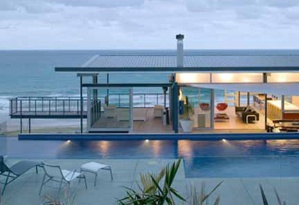 Contemporary Beach Cottages