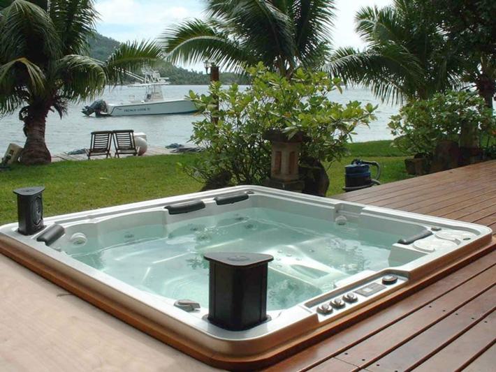 Installing Hot Tub In Backyard : Hot Tub Installation Aesthetics & Sight Lines