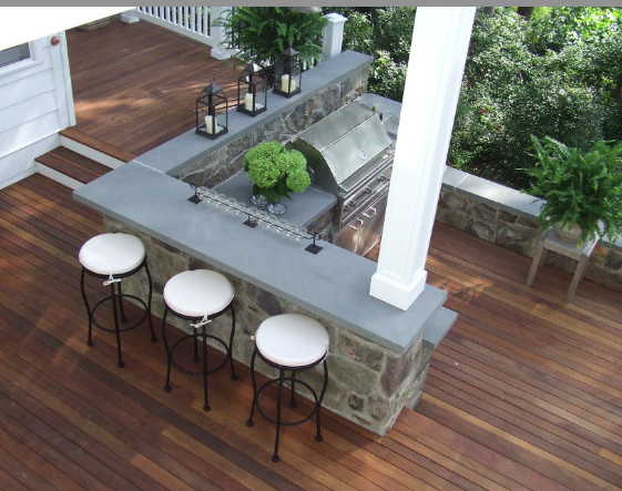 how to build your own backyard kitchen by yourself