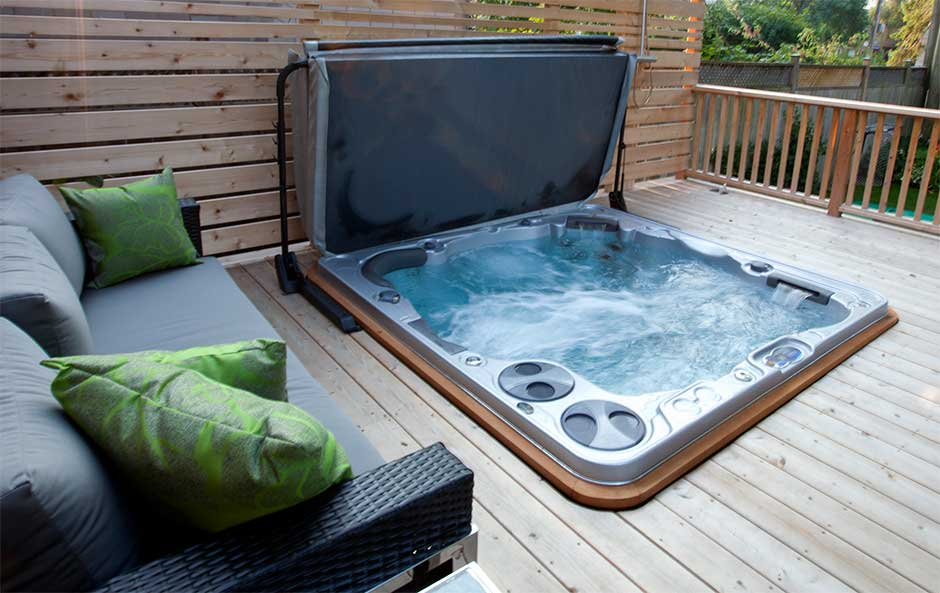 Derive these four benefits from owning a hot tub for Types of hot tubs