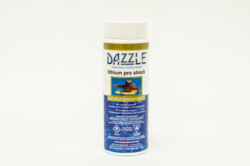 Dazzle Lithium Pro Shock 900g Bonavista Pools