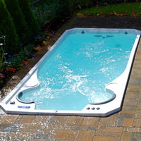 How Exercise Pools Work? - BonaVista Pools