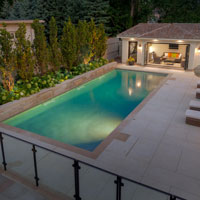 How Far Should An Inground Pool Be From House Bonavista Pools