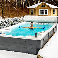 How a Swim Spa Helps Ease Aches and Pains