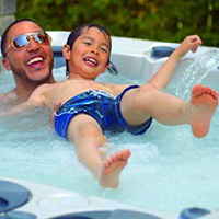 What Age Can a Child Get in a Hot Tub?