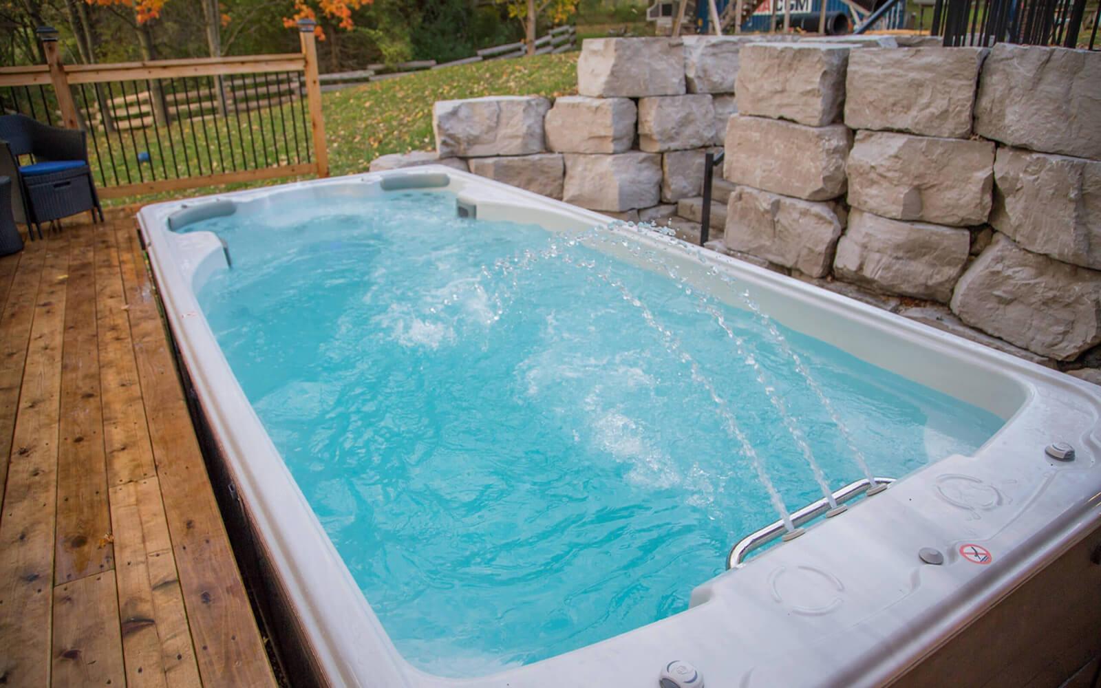 Cloudy Water in a Swim Spa